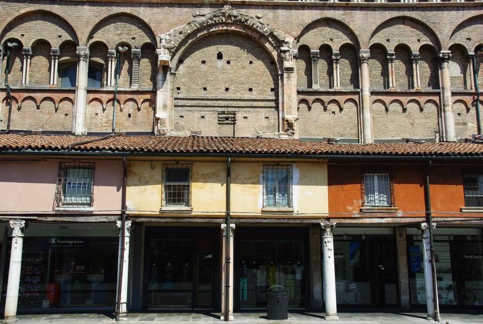 Piazza Trento Trieste - Ferrare