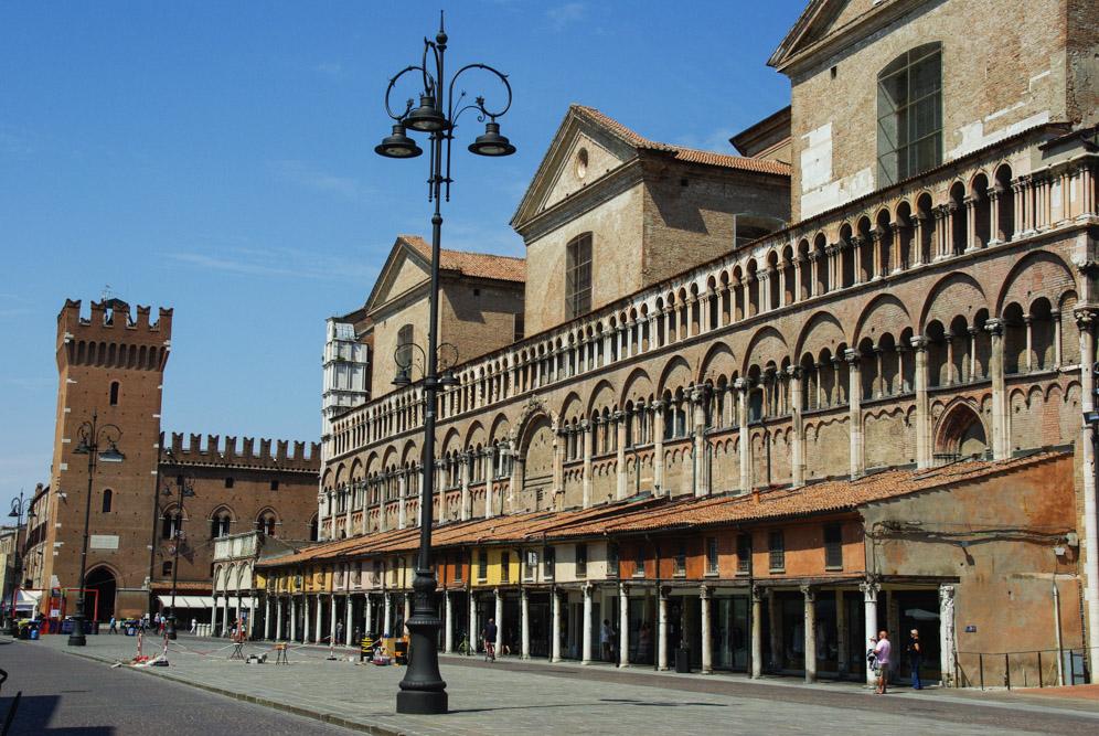 Piazza Trento e Trieste - Ferrare