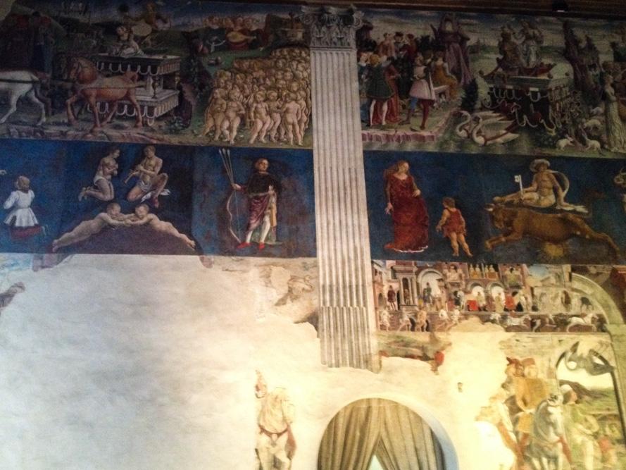 fresque de la salle des mois - Palais Schifanoia - Ferrare