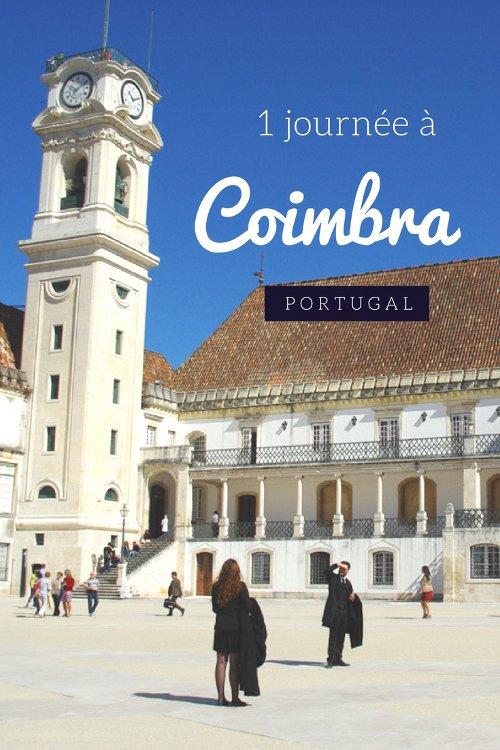 1 journée à Coimbra : visite de la vieille ville au bord du Tage, de la cathédrale et de la plus vieille université du Portugal