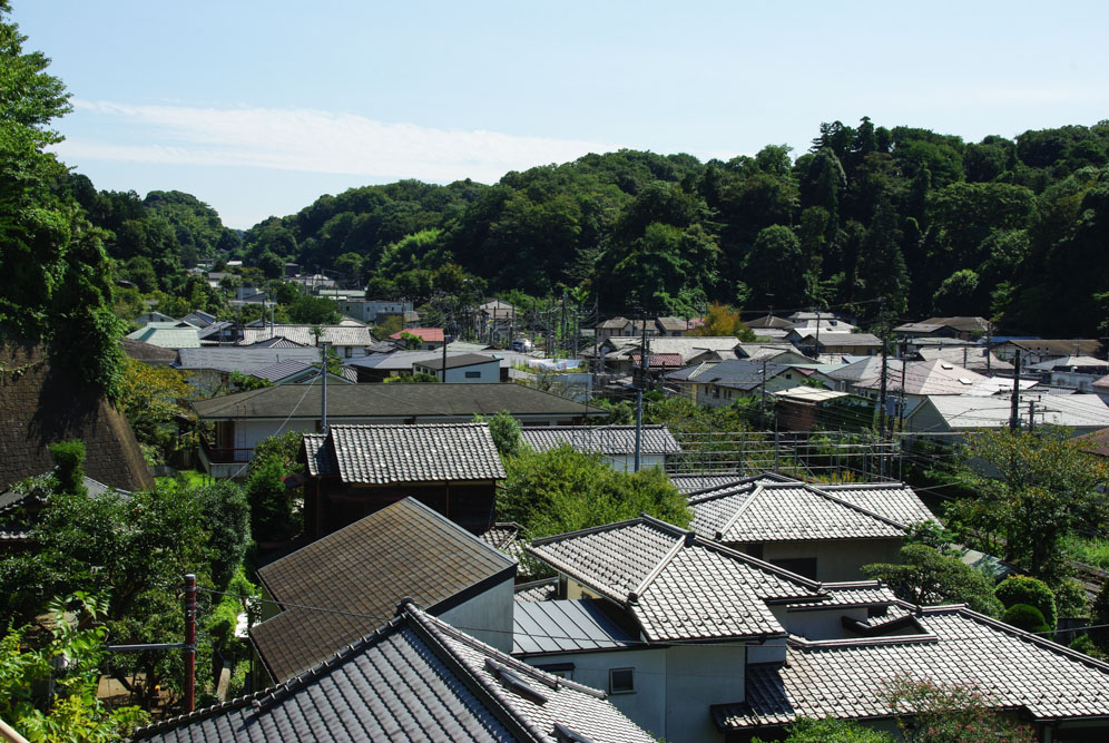 les toits de Kamakura