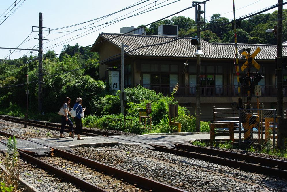 voie ferrée - Kamakura
