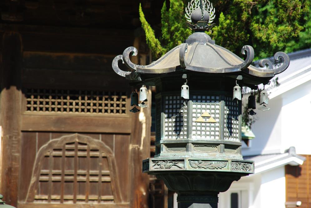 lanterne - temple Kencho-ji - Kamakura