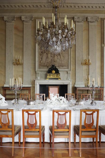 salle à manger - château de Compiègne