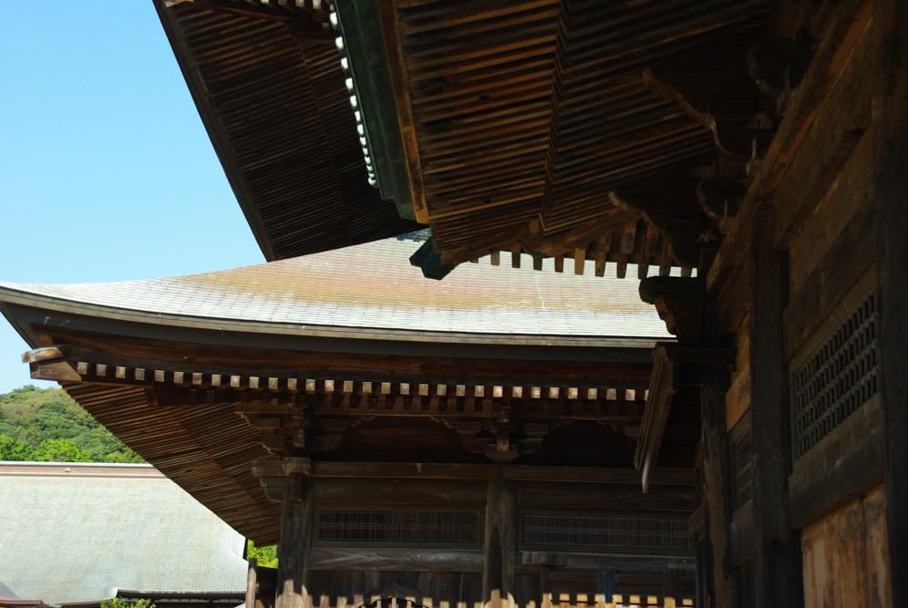 toit - temple Kencho-ji - Kamakura