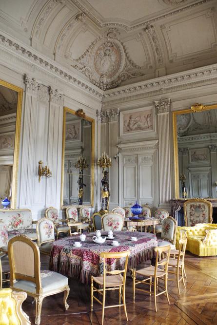 salon de thé - château de compiègne