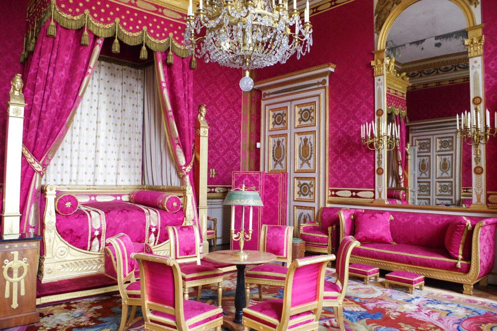 chambre de l'empereur - château de compiègne