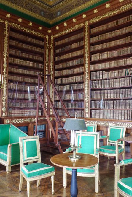 bibliothèque - château de Compiègne