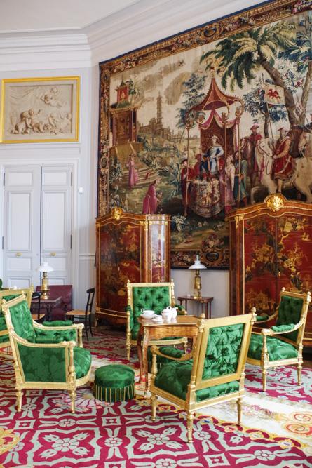 salon de musique - château de compiègne