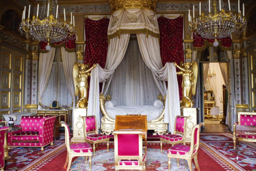chambre de l'impératrice - château de compiègne