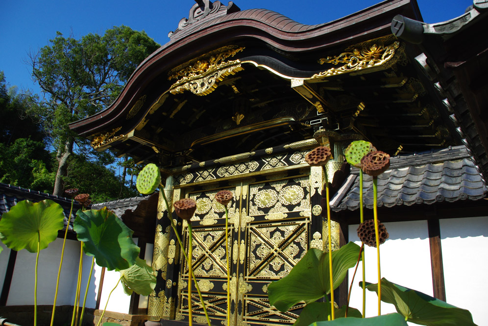 portail - temple Kencho-ji - Kamakura