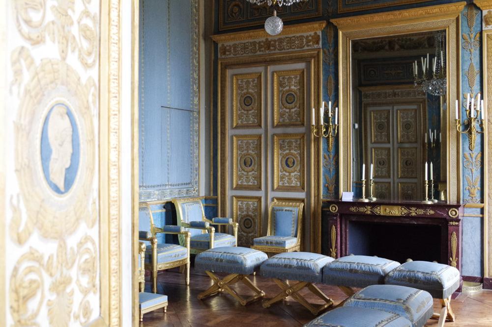 salon bleu - château de compiègne