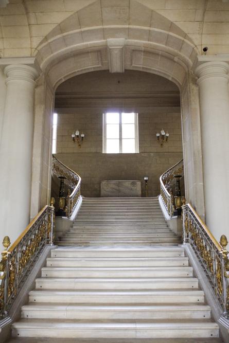 escalier d'honneur- château de compiègne