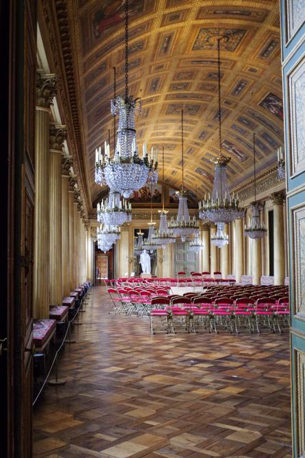 galerie de bal - château de compiègne