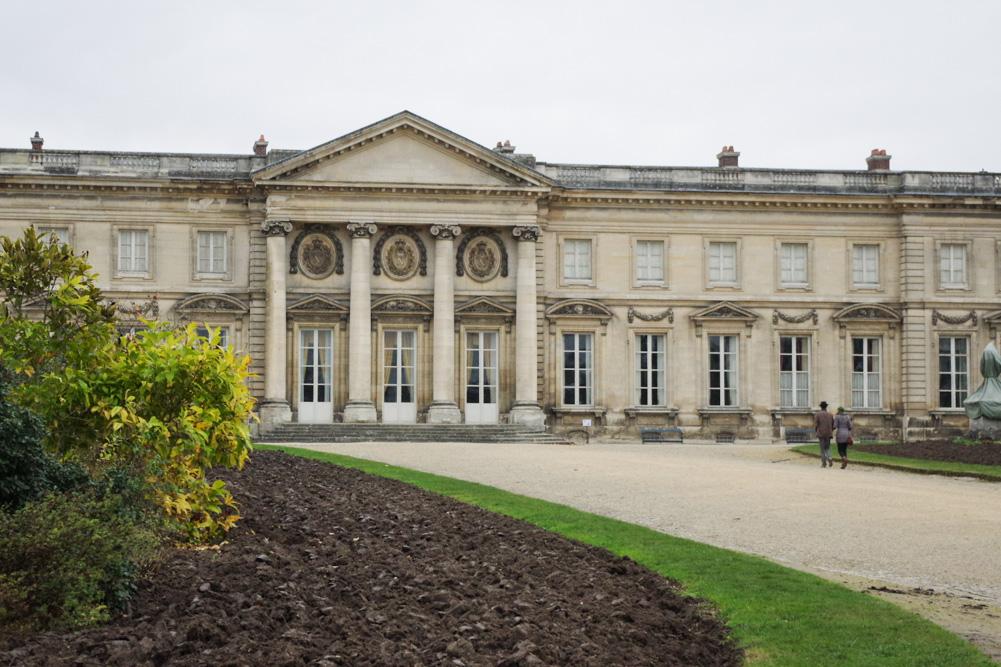 château de Compiègne - côté Jardin