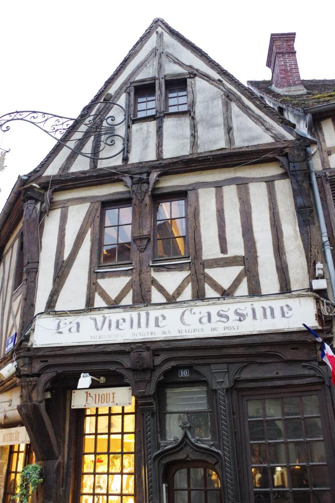 La Vielle Cassine, maison à pan de bois - Compiègne