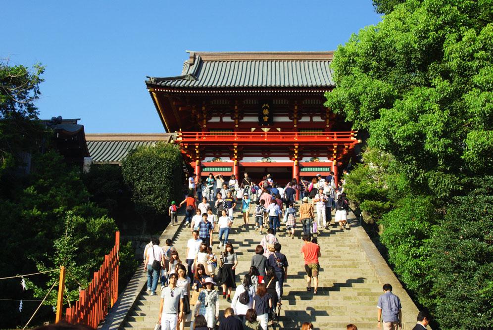 sanctuaire tsurogaoka Hachiman-gu - Kamakura
