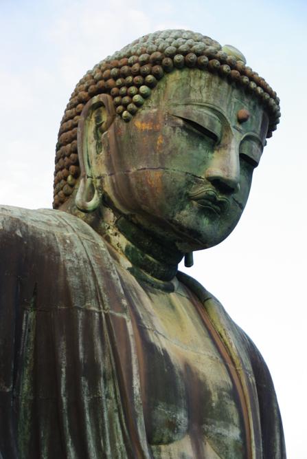 visage daibutsu - bouddha géant -Kamakura