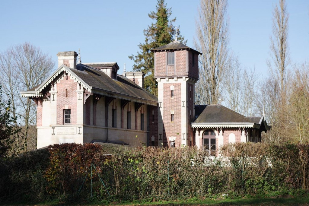 Pavillon de l'impératrice - forêt de Compiègne