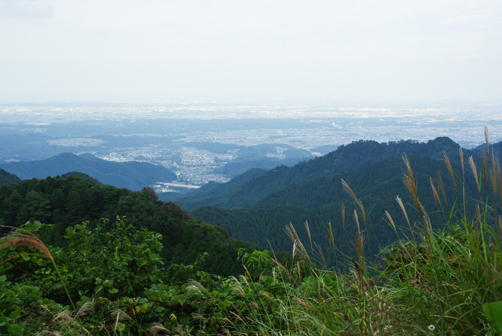 panorama sur Tokyo depuis Jimba-San