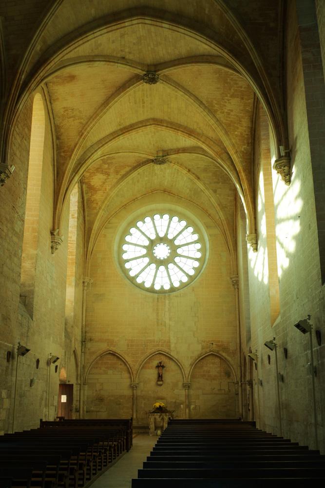 Intérieur de l'Abbaye de Saint Jean aux bois