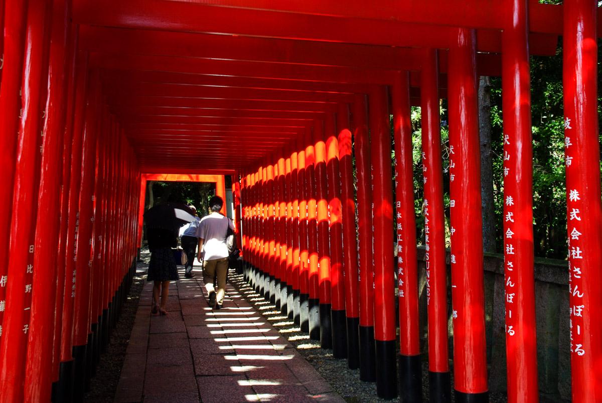 allée de toris - sanko inari jinja - Inuyama