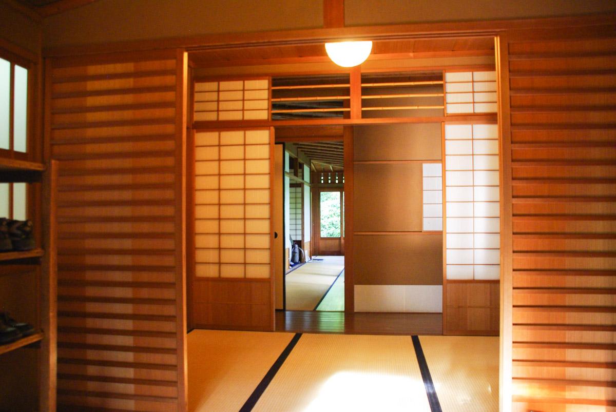 intérieur maison de thé - inuyama