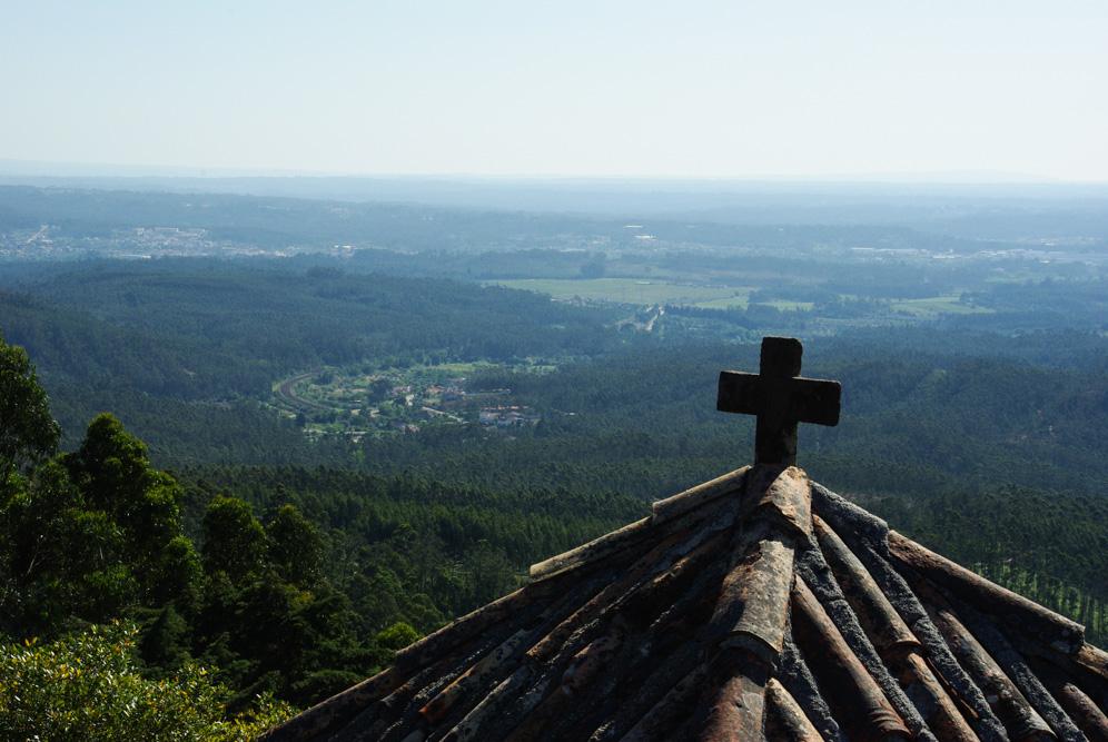 Panorama sur les environs de Luso - Forêt de Bussaco