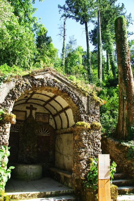 Chapelle - Forêt de Bussaco