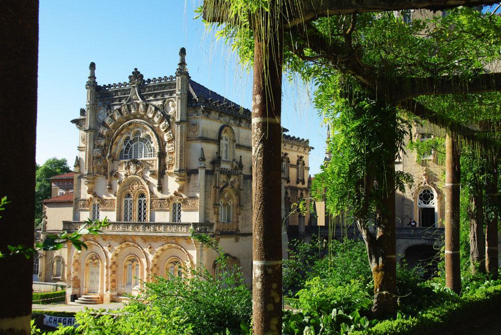 Détail architectural du Palace de Bussaco