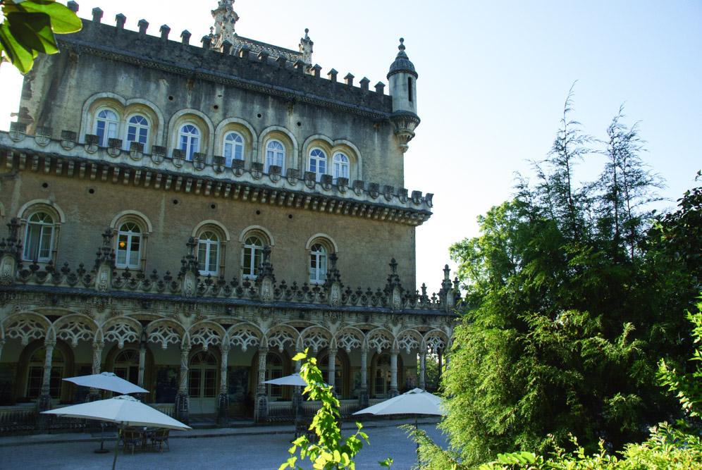 Façade du Palace de Bussaco