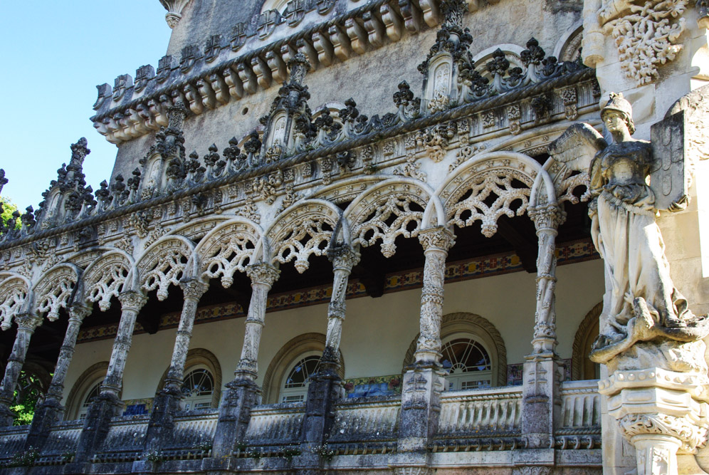 Détail architectural du Palace de Bussaco