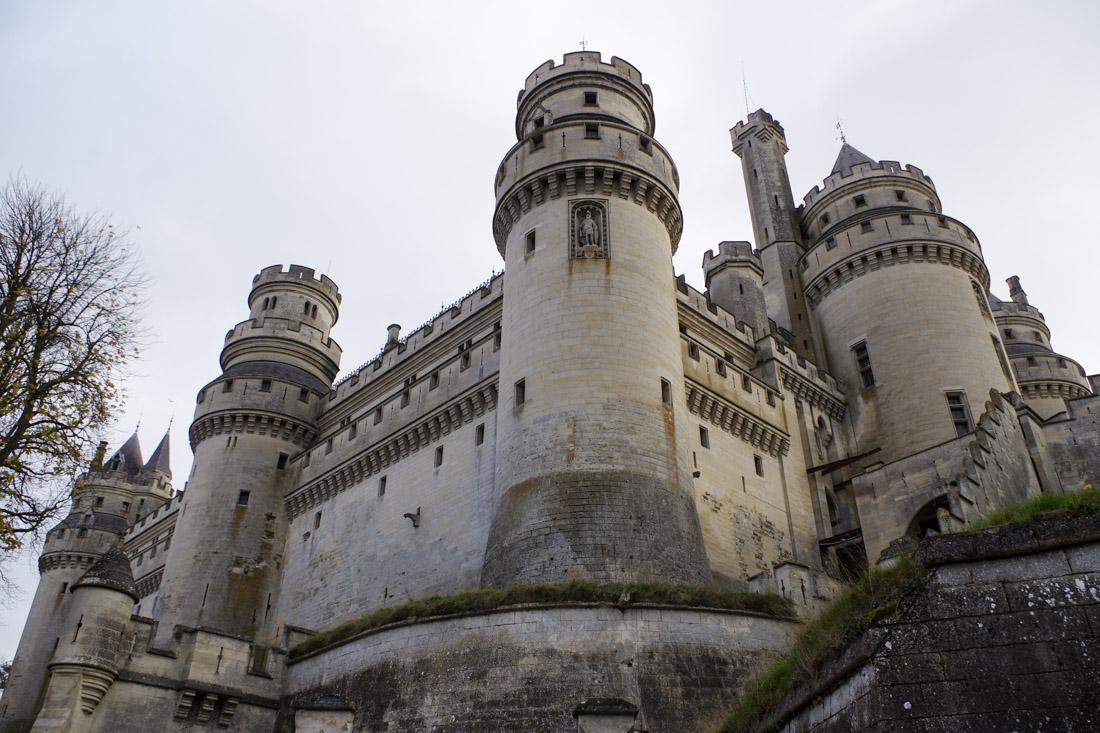 Château de Pierrefonds - façade extérieure