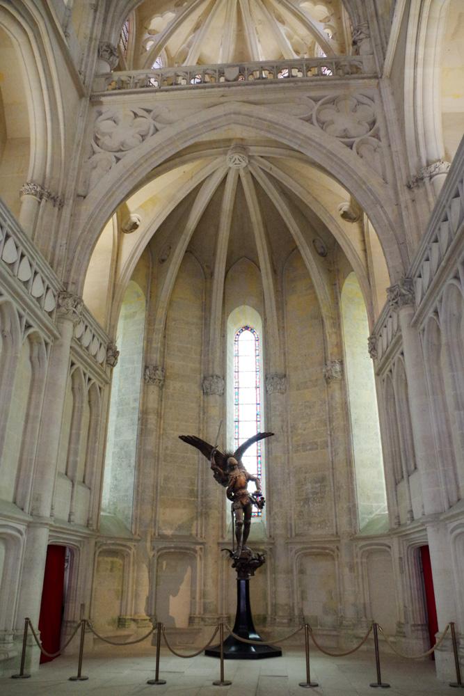 Intérieur de la chapelle - Château de Pierrefonds