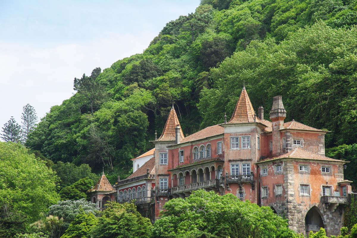 un chateau de Sintra