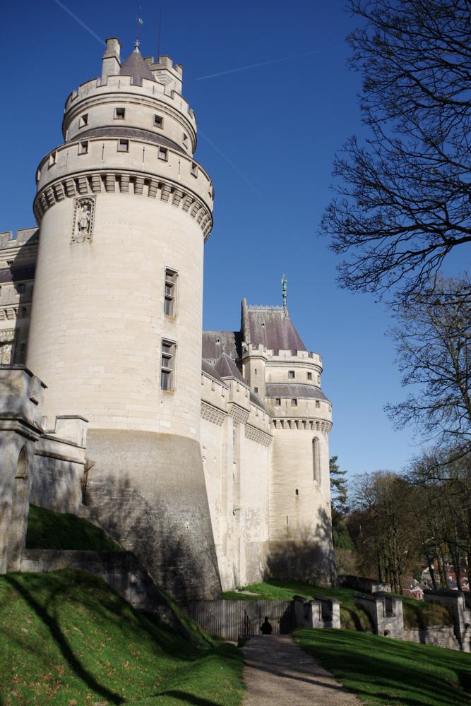 Château de Pierrefonds - tours