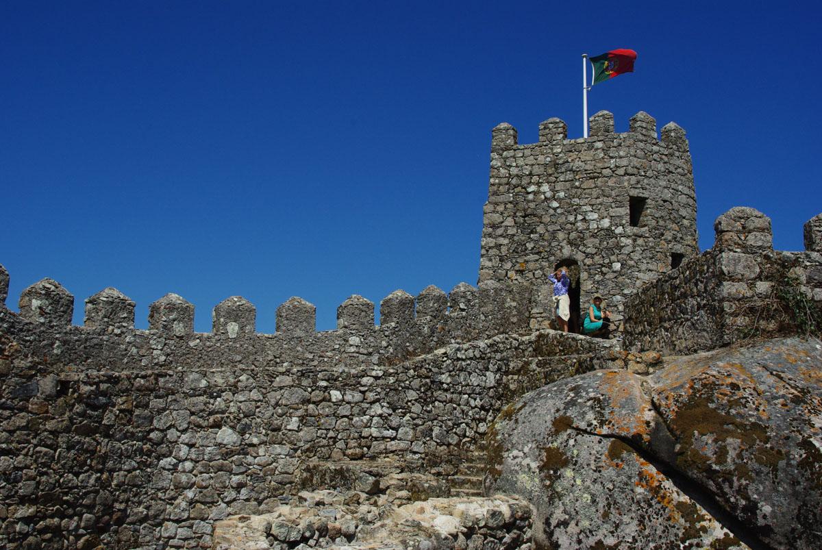 Rempart du château des Maures - Sintra