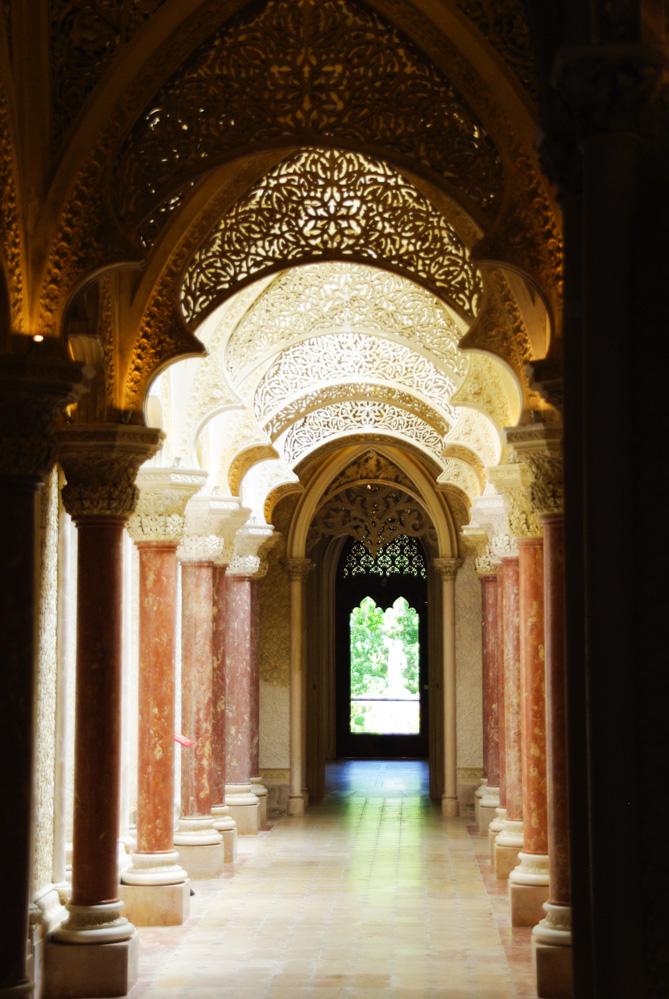 Couloir du palais de Monserrate