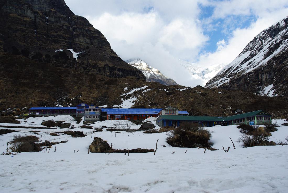 Camp de base du Macchapuchere