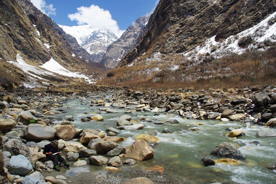 Vallée de la Modi Khola - Annapurnas