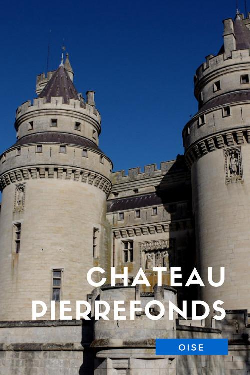 Visite du château de Pierrefonds, un château médiéval restauré par l'architecte Eugène Viollet le Duc, dans la forêt de Compiègne