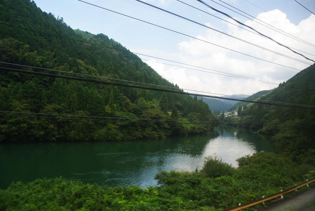 trajet en train entre Nagoya et Takayama