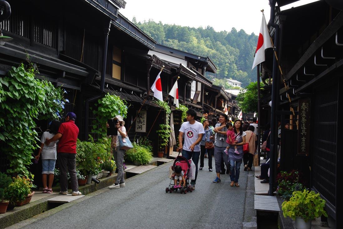 Quartier commerçant de Takayama - Anciennes demeures privée