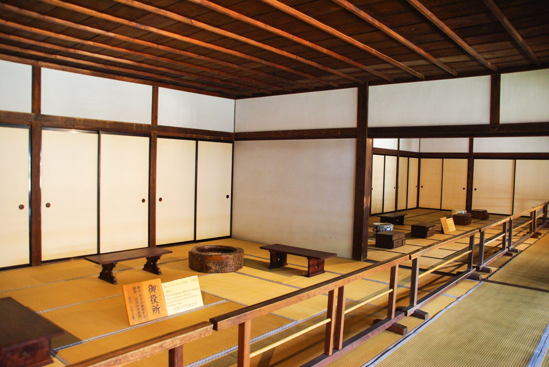 Intérieur du Takayama Jinya