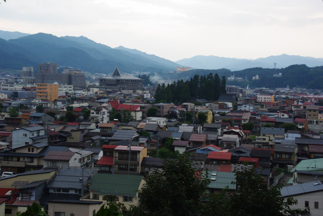 les toits de la ville de Takayama