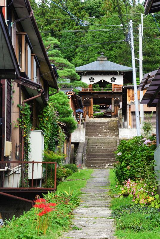 environs du temple Higashiyama - Takayama