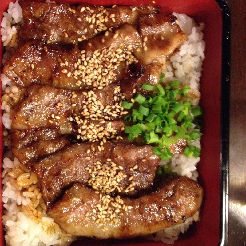 boeuf de hida sur riz