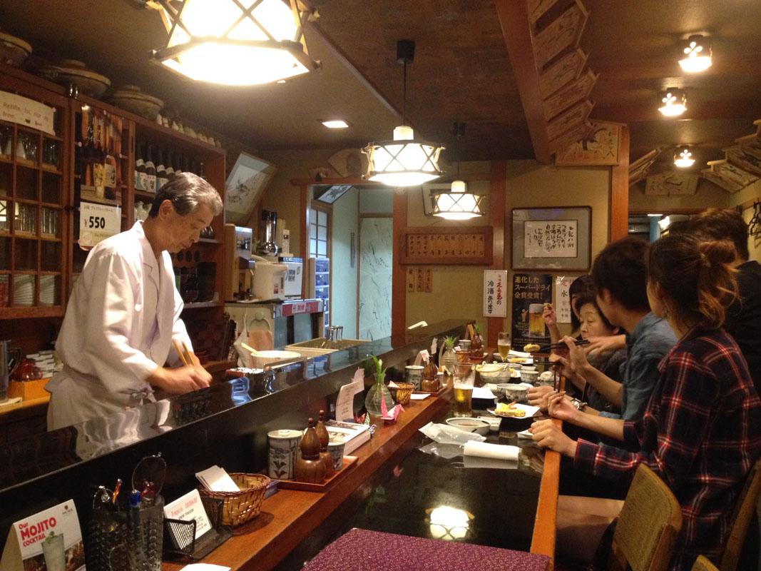 restaurant de tempura Ebihachi à Takayama