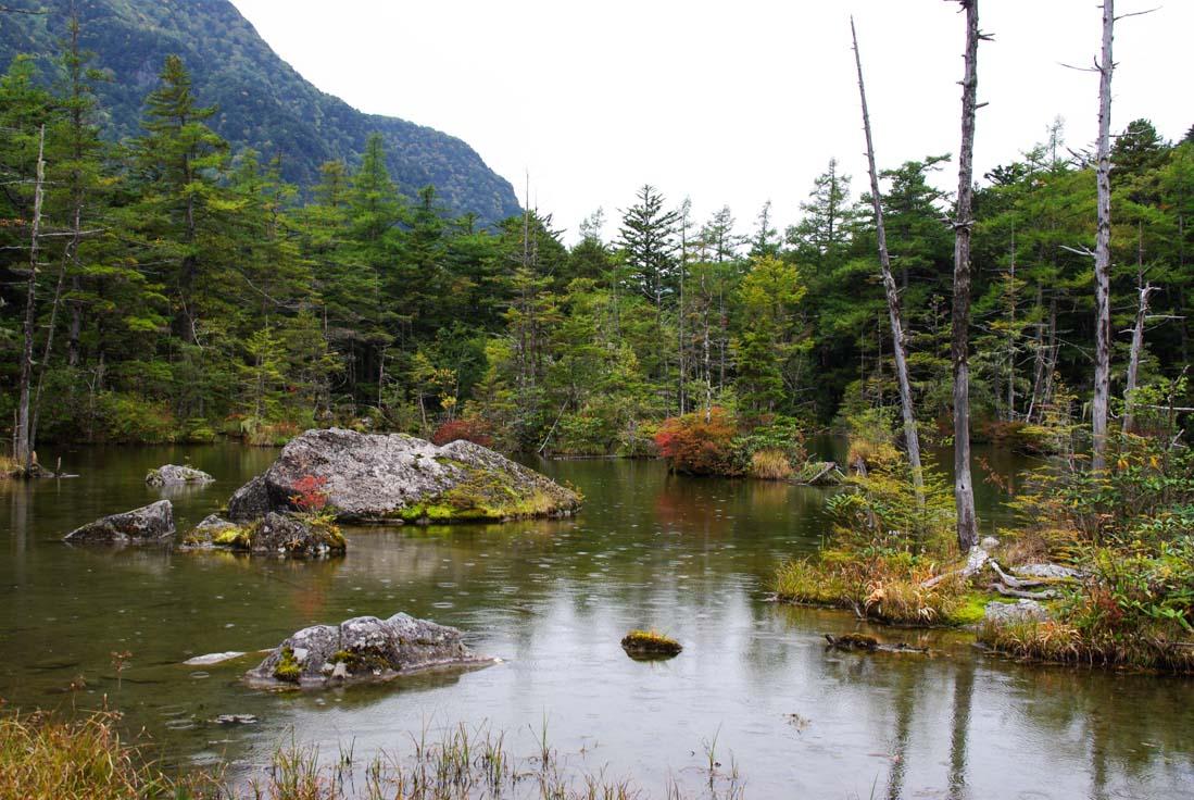 Randonnée dans la vallée de Kamikochi