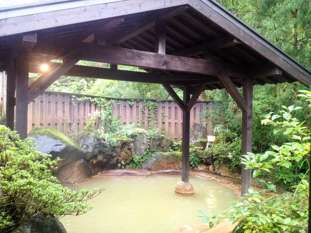 onsen traditionnel à Hirayu onsen